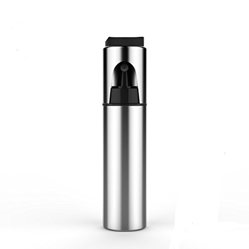 Olive Oil Sprayer,Cooking Spray Bottle Stainless Steel Olive Oil Dispenser Oil Mister Kitchen Vinegar Sprayer Barbecue Marinade Spray Bottle with Brush