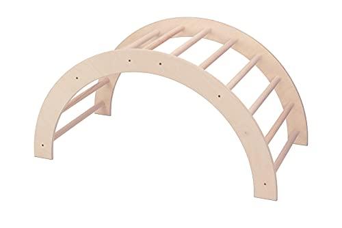 VU Holzspielzeug Kletterbogen / Bogenleiter (Pikler Art), groß, fertig...