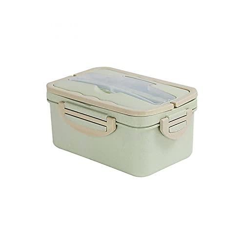 Mllkcao Lunch Box Bag Case Grande capacité Bento Box, boîte à Lunch Adulte étudiant, boîte à Lunch à Trois Compartiments