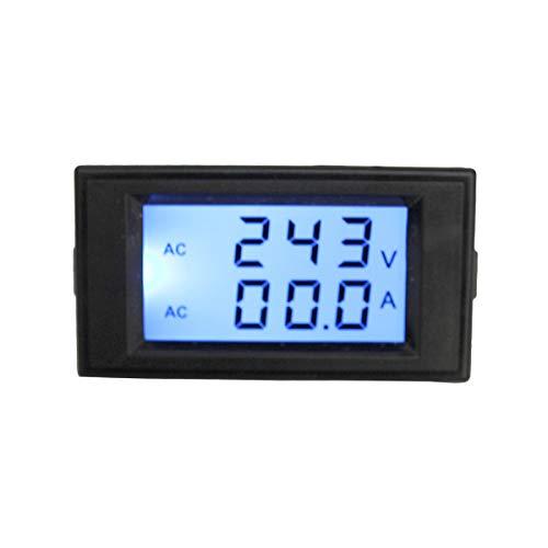 KETOTEK Voltmetre Amperemetre DC Testeur Tension Multimetre Numerique Wattmetre DC 20A 6.5-100V Multim/ètre LCD Testeur de Voltm/ètre DC 6.5-100V 0-20A