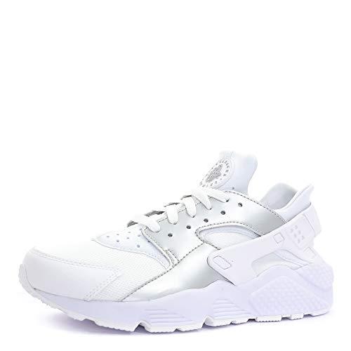 Nike Zapatillas Air Huarache, Zapatillas de Fitness Unisex, Blanco (Multicolore Multicolor 318429 108), 45.5 EU