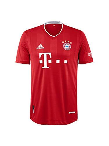 FC Bayern München Authentic Home-Trikot Saison 2020/21, Gr. M, ohne Flock