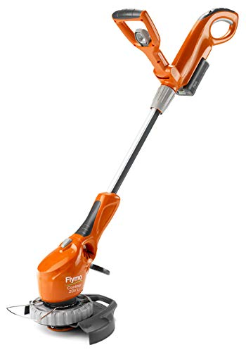 Flymo Contour Cordless 20V Li Grass Trimmer, 20V Li-Ion Battery, 25cm Cutting Width