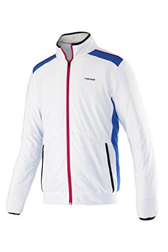 HEAD Oberkörper Bekleidung Club Jacket, Weiß, M