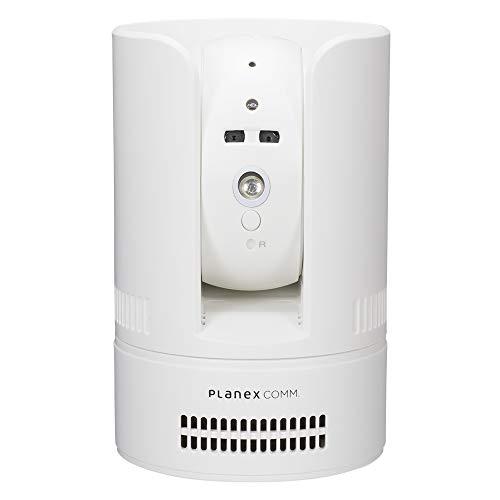 Planex 防犯カメラ カメラ一発! (Wi-Fi/有線LAN対応) 首振りモデル CS-W72FHD