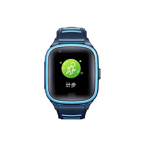 Lilizhou Reloj Inteligente, Reloj Impermeable IP67 4G GPS Smart's Smart's Smart's, Reloj de teléfono móvil SOS Llamada de Voz, Reloj de cámara táctil
