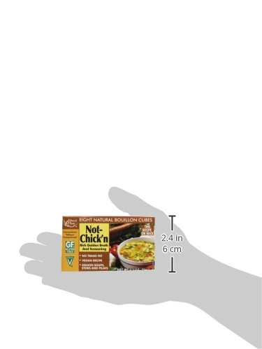 Edward & Sons Not Chicken Bouillon Cubes, 2.5 oz (PACK OF 1)