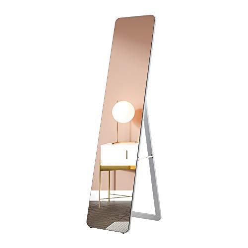 """FREDEES 63""""x 15"""" Ganzkörperspiegel, der am Wandspiegel oder am hängenden hängenden Schlafzimmerspiegel aufgehängt ist. Bodenspiegel Schminkspiegel"""