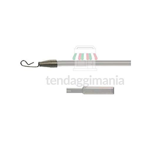 Various Aste Metalliche Tira Tende 75 cm cromate