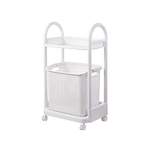 JCNFA rekken toilet/badkamer rekken, meerlagig nachtkastje, wasmand opslag plank opslag, 2 lagen,3 lagen