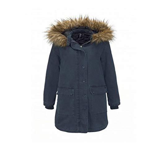 LTB Jeans Damen Jacke Parka Kapuzen Mantel Litowa Größe XL