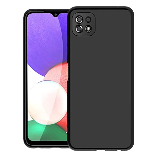 Cassby Back Cover for Samsung Galaxy A22 5G (Matte|Black)