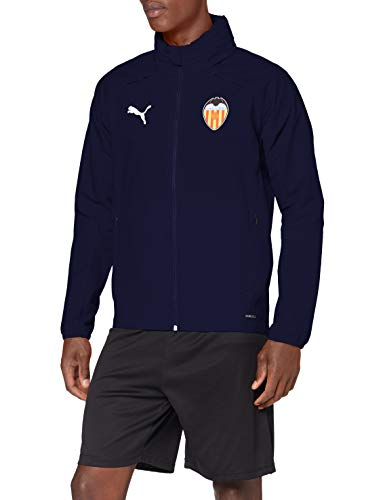PUMA Valencia CF Temporada 2020/21-Rain Jacket Peacoat Chaqueta, Unisex, S