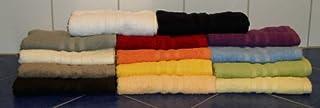 Tvätthandske/tvättlapp av frotté 16 x 21 cm, Sylt limone