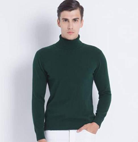 Suéter Hombre Otoño Invierno Ropa Clásico Punto Homme Pullover Hombre Suéteres XL Verde