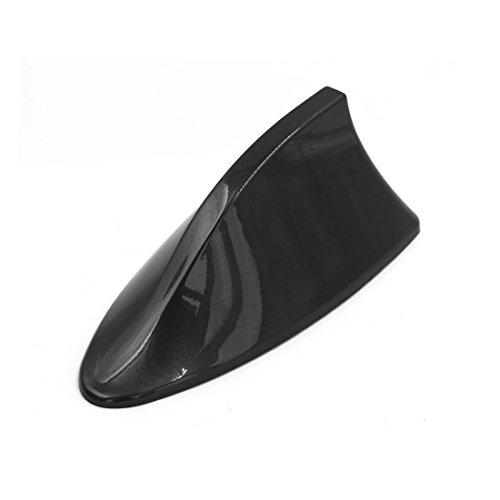 Sourcingmap extérieur Voiture Décoration aileron Requin Design AM/FM Radio Signal d'antenne Noir