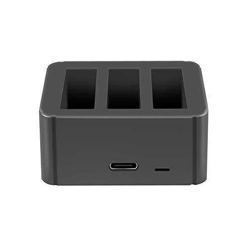 Tineer Intelligent Battery Charging Hub,3 en 1 Junta de Cargador USB Carga...