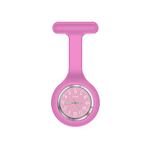 Nurse Watch Brooch, Silicone with Pin/Clip, Glow in Dark...