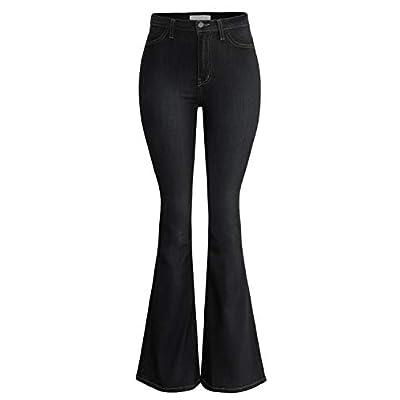 URBAN K Damen Jeans Classic High Waist