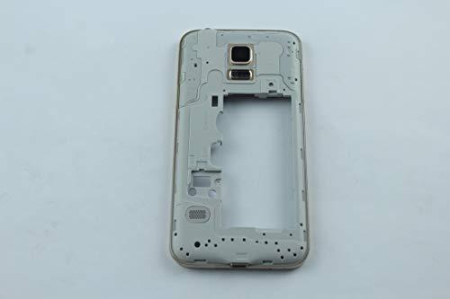 Cellking Samsung Galaxy S5 Mini G800F Mittelrahmen Rahmen Mittel Gehäuse Gold