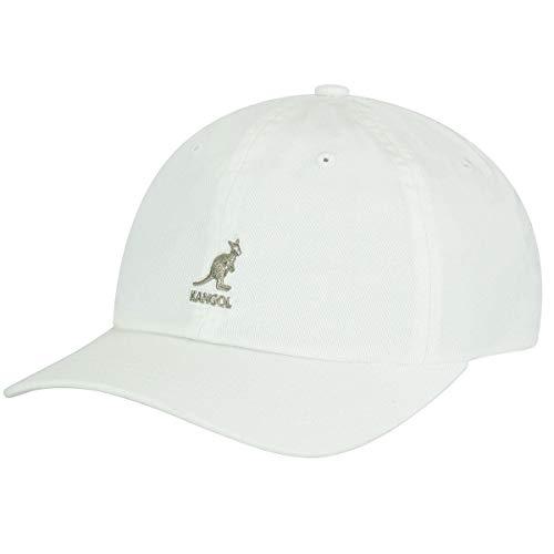 Kangol Washed Casquette de Baseball, Blanc (Blanc Wh), Taille Unique Mixte