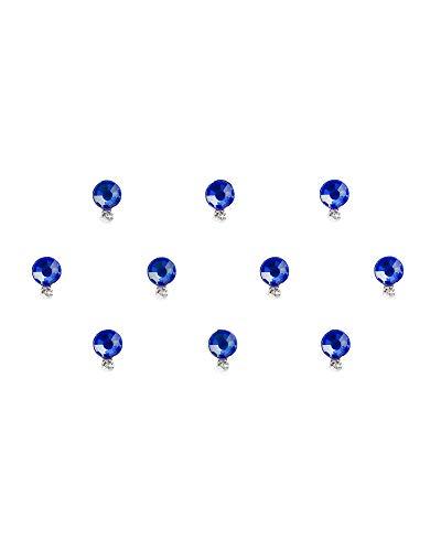 Comet Busters Blue Round Swarovski Crystal Bindi