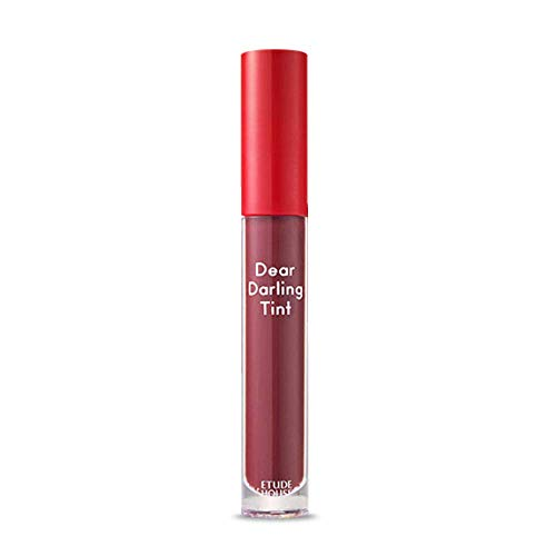 ETUDE HOUSE Dear Darling Water Gel Tint (#PK003 Sweet Potato Red) - Long-lasting Effect up with Fruity, Juicy, Moist, and Vivid coloring