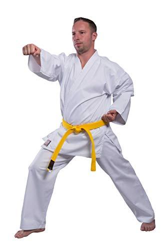 Budodrake Karateanzug TAKACHI Allround 10 oz weiß 100% Baumwolle vorgewaschen (120)
