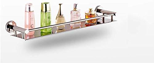 Badkamerframe van roestvrij staal/boren niet nodig badkamerkast met één laag (kleur: A, grootte: 40 x 12 cm) .L60*12CM  10 Correas