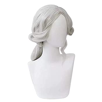 PWEINCY Photographer Joseph Desaulniers Cosplay Wig Central Parting Medium Length Wigs for Halloween Costume Party Not Pre-styled