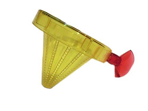 Aquarium Rio Futtersieb mit Sauger für Tubifex, Farbe: gelb