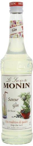 Monin - Saveur Gin Sirup Sirupp Sierup Sirop zum Mischen - 0,7l