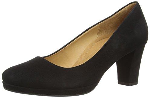 Gabor Shoes Damen Comfort Fashion Pumps, Schwarz (schwarz 47), 40 EU