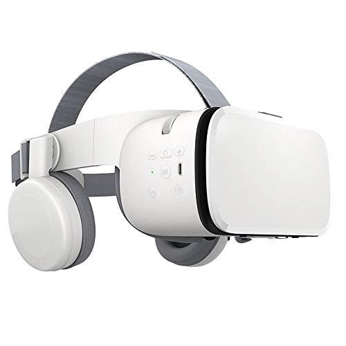 QCHEA VR Gafas 3D, Realidad Virtual, Mini cartón Casco VR Gafas, Adecuado for 4.7-6.2 Pulgadas de teléfonos móviles, lo Que le Permite experimentar el Mundo Virtual dondequiera en Cualquier Momento