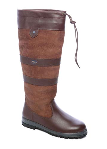 Dubarry Unisex Walnut Galway ExtraFit GTX Tall Leather Boots US Men's 6-6.5 / Women's 6.5-7