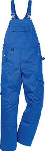 Fristads 114120 Kansas Workwear Latzhose Gr. 50W x 35L, königsblau