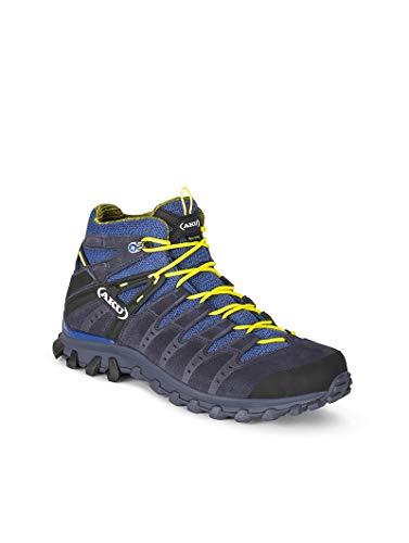 AKU ALTERRA Mid GTX – Hiking Trekking Outdoor – antracita/azul, 43