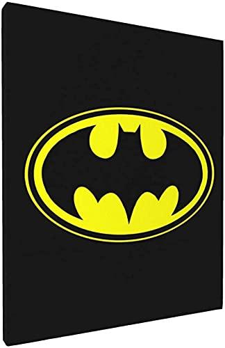 Batman Lienzo Arte de la Pared Decoración de la habitación Cartel Pintura Lienzo Impresión Dormitorio Sala de Estar Mural Decoración del hogar Arte de la Pared 30x40cmx1 Sin Marco