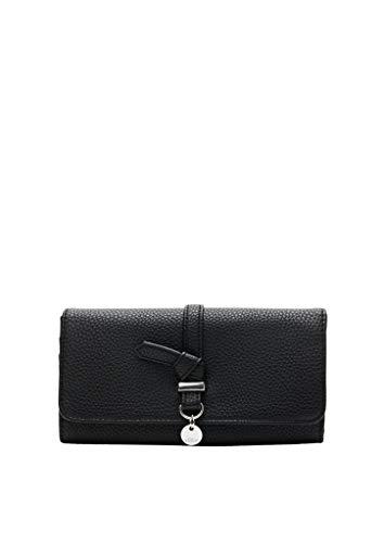 s.Oliver (Bags) Damen Portemonnaie Reisezubehör-Brieftasche, 9999 Black, 1 EU
