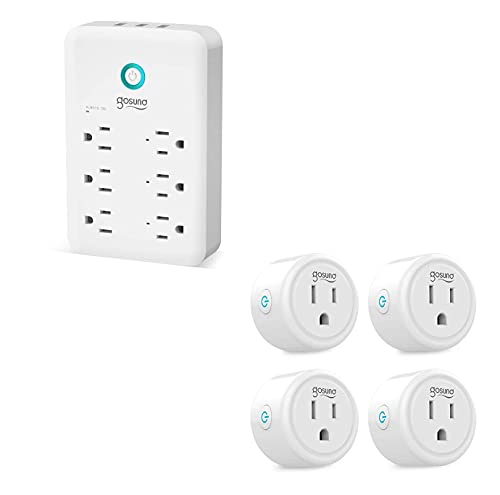 Smart Plug 4 Pack and Wall Outlet 1 Pack