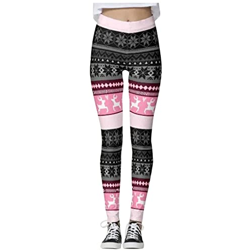 Sunnyuk Patrones Mujer Gimnasio Leggings Fitness Running Yoga Pilates Skinny Pantalones Medias Tamaño 8 a 12 Estirable