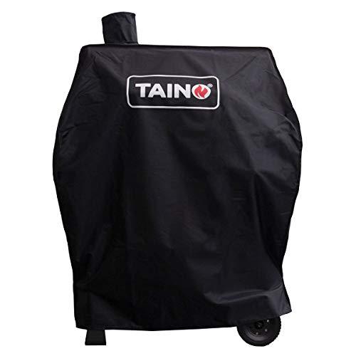 TAINO Hero BBQ Smoker GRILLWAGEN Holzkohle Grill Grillkamin Standgrill Räucherofen Zubehör Gusseisen (Abdeckung)