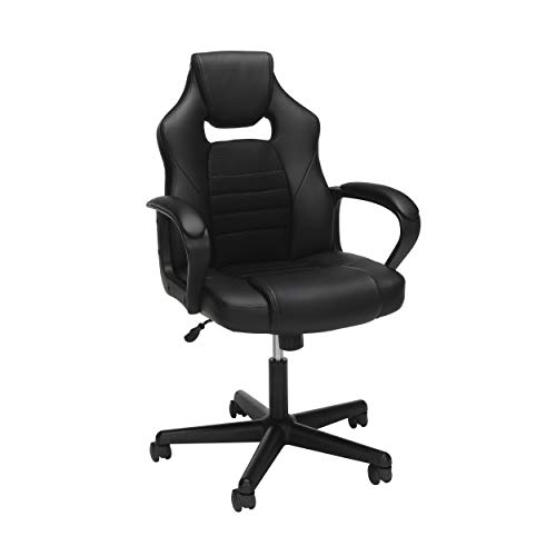 OFM Essentials Collection Racing Style Gaming Chair, in Black (ESS-3083-BLK) black chair gaming