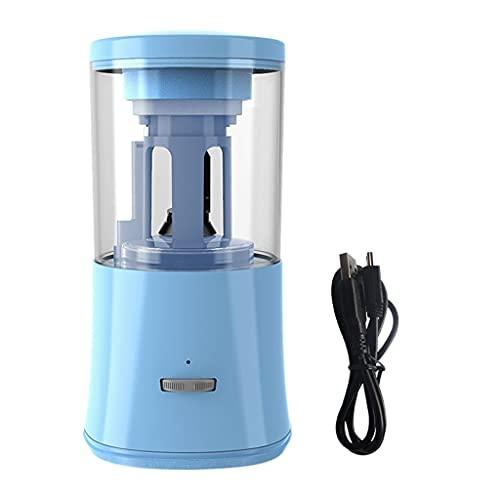 PHILSP Sacapuntas eléctrico sacapuntas portátil para 6-8mm USB operado en la oficina escuela para niños estudiantes artista azul