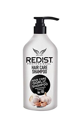 Champú profesional anticaída con extracto de ajo Redist Professional Garlic Shampoo 1000ml.