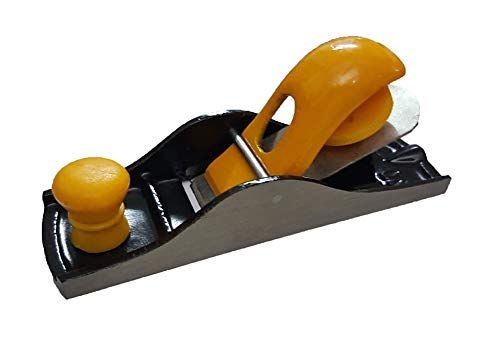 Inditrust Steel Block Carpenter Plane (7-inch, Red)