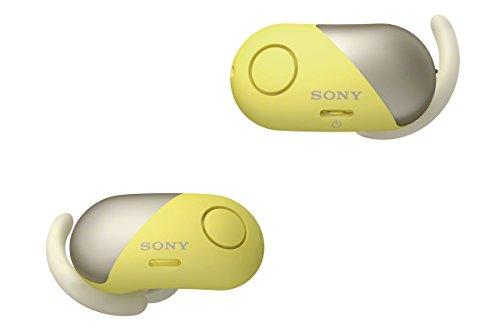 Sony WF-SP700N True Sport Kopfhörer (Wireless, Noise Cancelling) gelb, mit Alexa-Integration