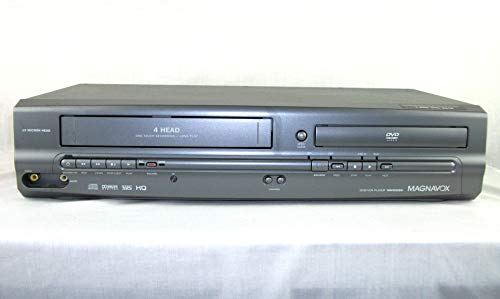 Magnavox MWD2205 DVD / VCR / CD / VHS Player, Video Cassette Recorder, 19 Micro.n Head 4-Head One Touch Recording, Compact Disc Digital Audio with Dolby Digital