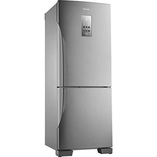 Refrigerador Panasonic BB53PV3X Frost Free 425L Aço Escovado Refrigerador Panasonic BB53PV3XB 220v