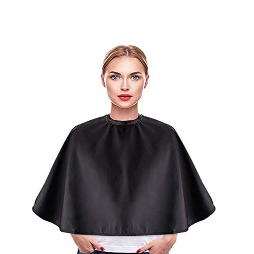 Minkissy maquillage cape preuve de l'eau salon de beauté shorty cape tablier pour artiste esthéticienne